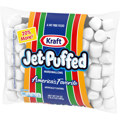 Jet-Puffed Marshmallows 24 oz Wrapper