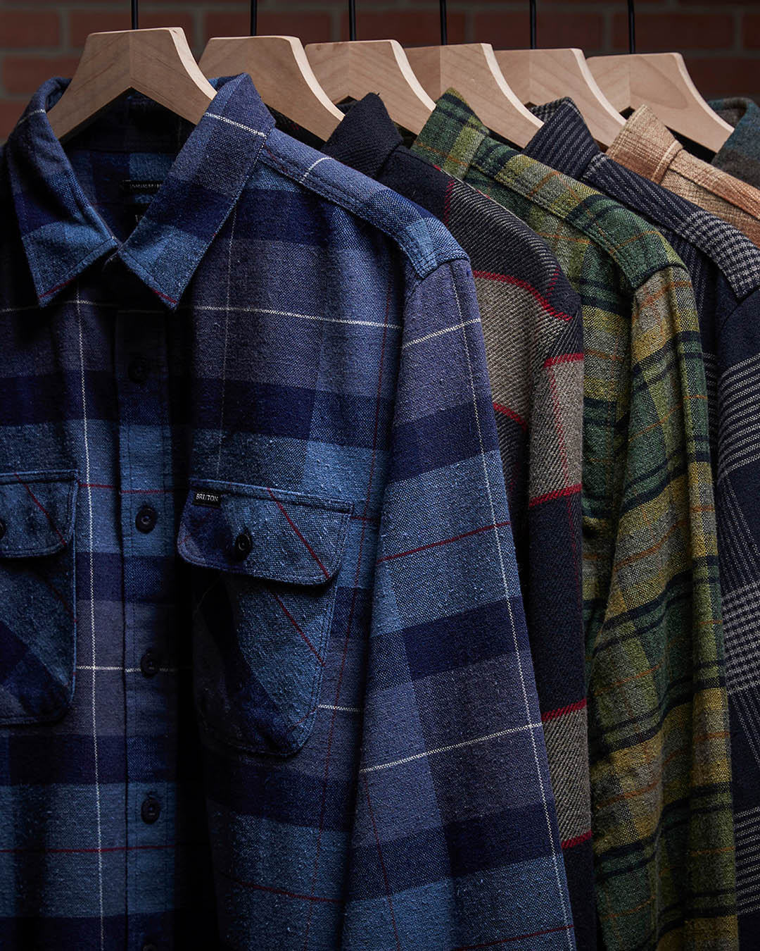 Brixton Men's Bowery Flannel
