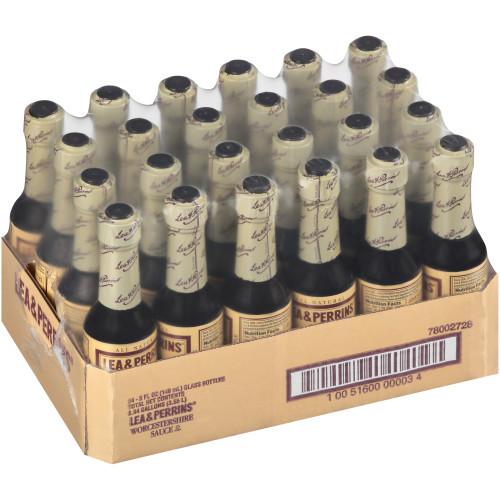 LEA & PERRINS Worcestershire Sauce, 5 oz. Bottles (Pack of 24)