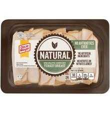 OSCAR MAYER Natural No Antibiotics Ever Mesquite Smoked Turkey Breast 7 oz