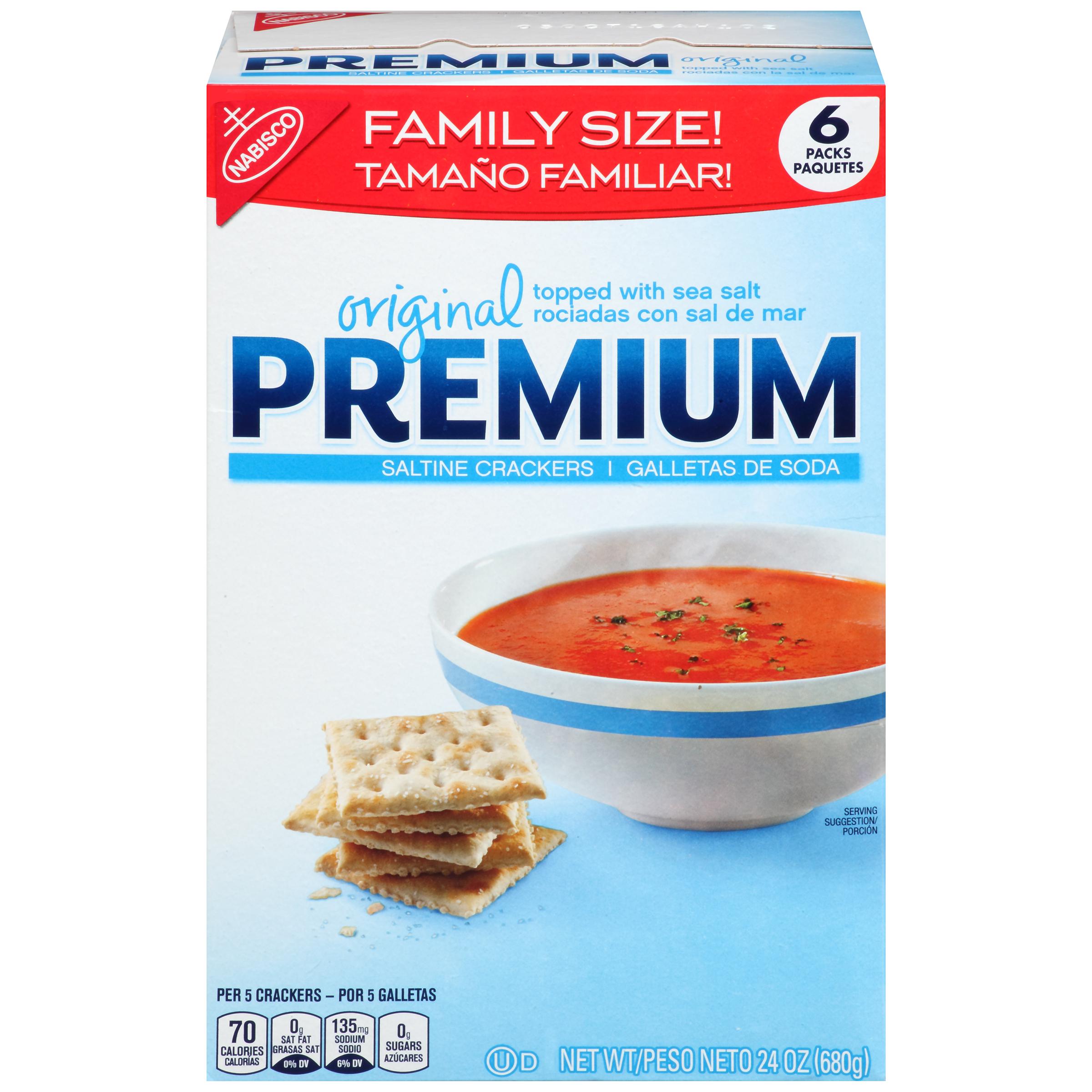 PREMIUM Saltines Crackers 24 oz