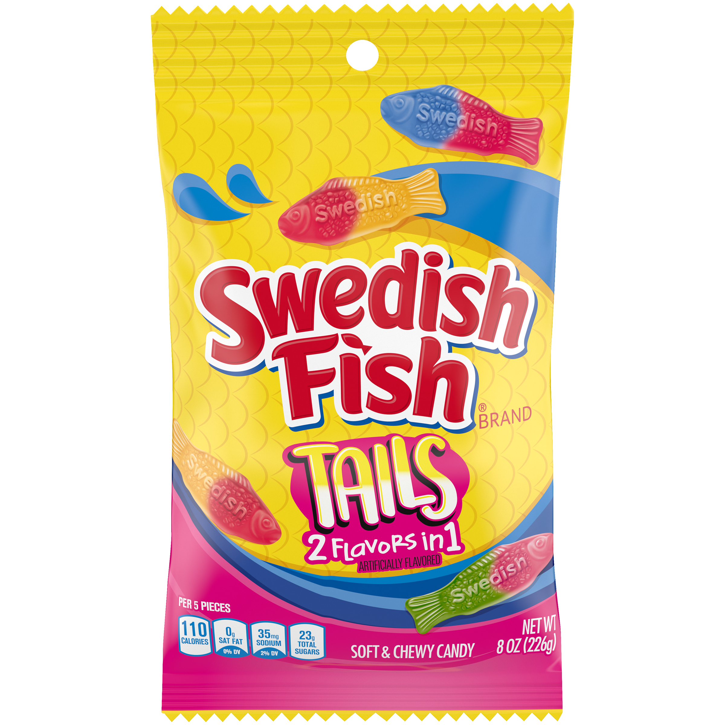 SWEDISH FISH Tails Tails Soft Candy 8 oz