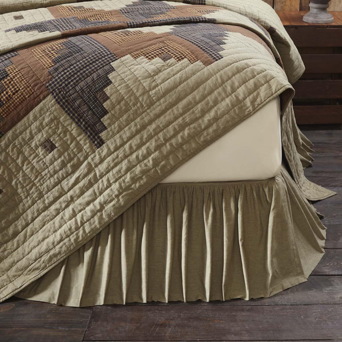 Novak King Bed Skirt 78x80x16