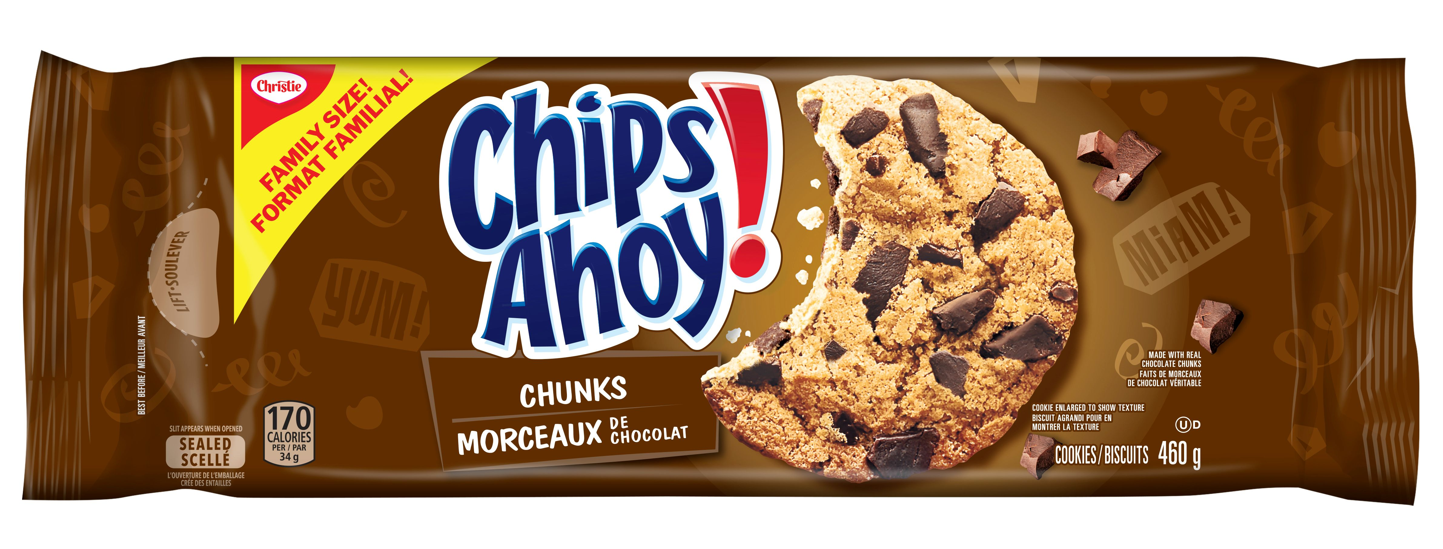 CHIPS AHOY!  CHUNKS 460 GRM