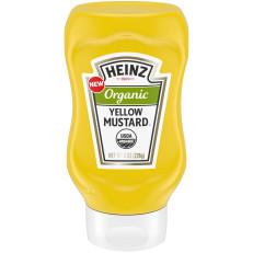 Heinz Organic Yellow Mustard 8 oz Bottle image