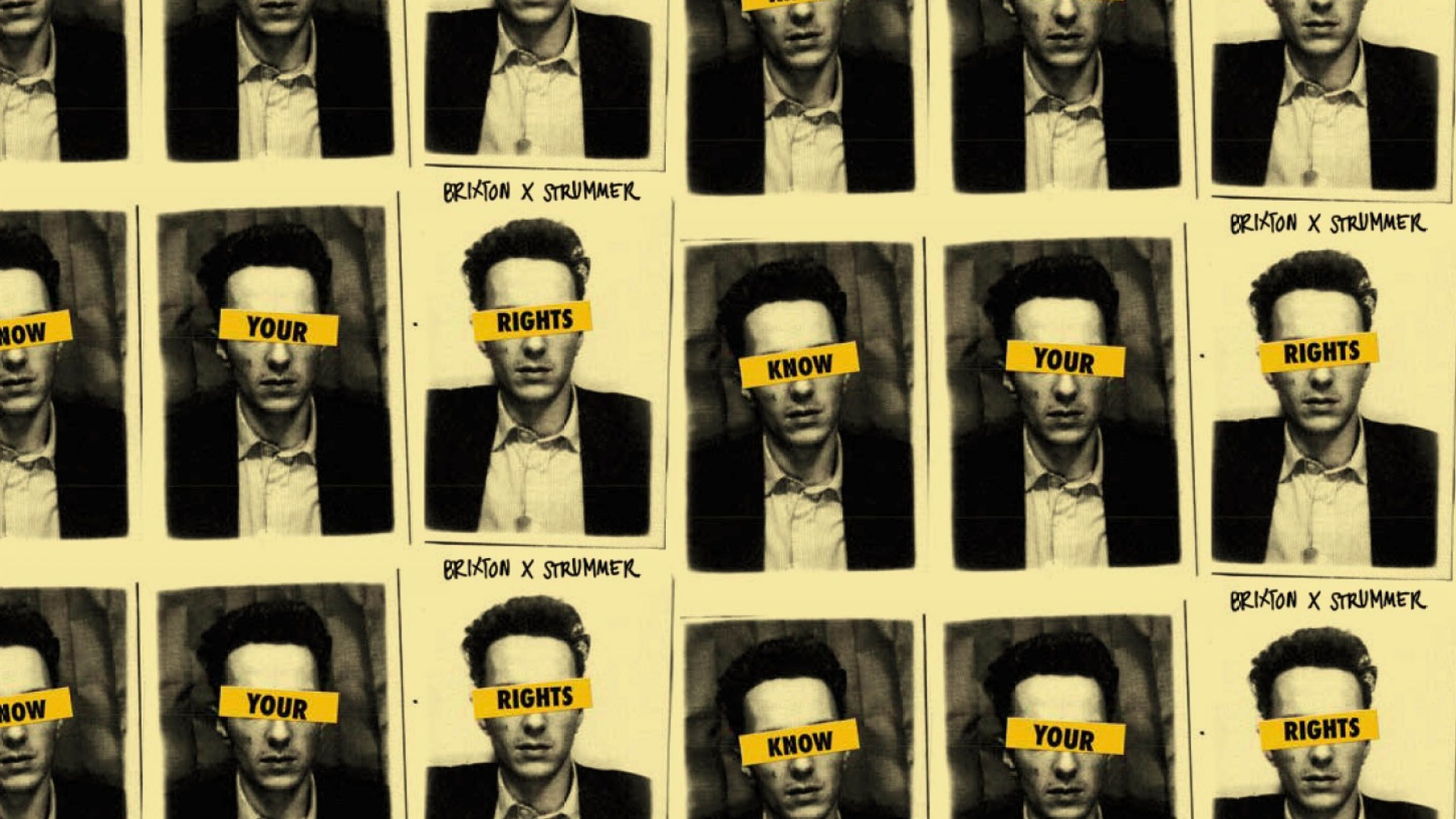 Know Your Rights Joe Strummer Photobooth