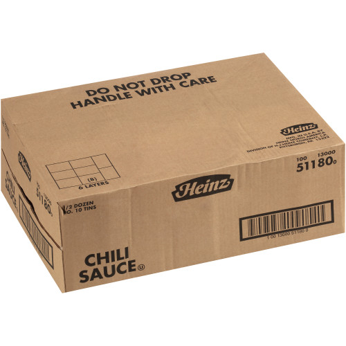 HEINZ Chili Sauce #10 Can, 7 lb. (Pack of 6)