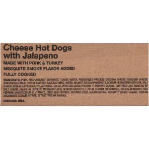 Oscar Mayer Jalapeno & Cheese Hot Dogs, 5 lb. image