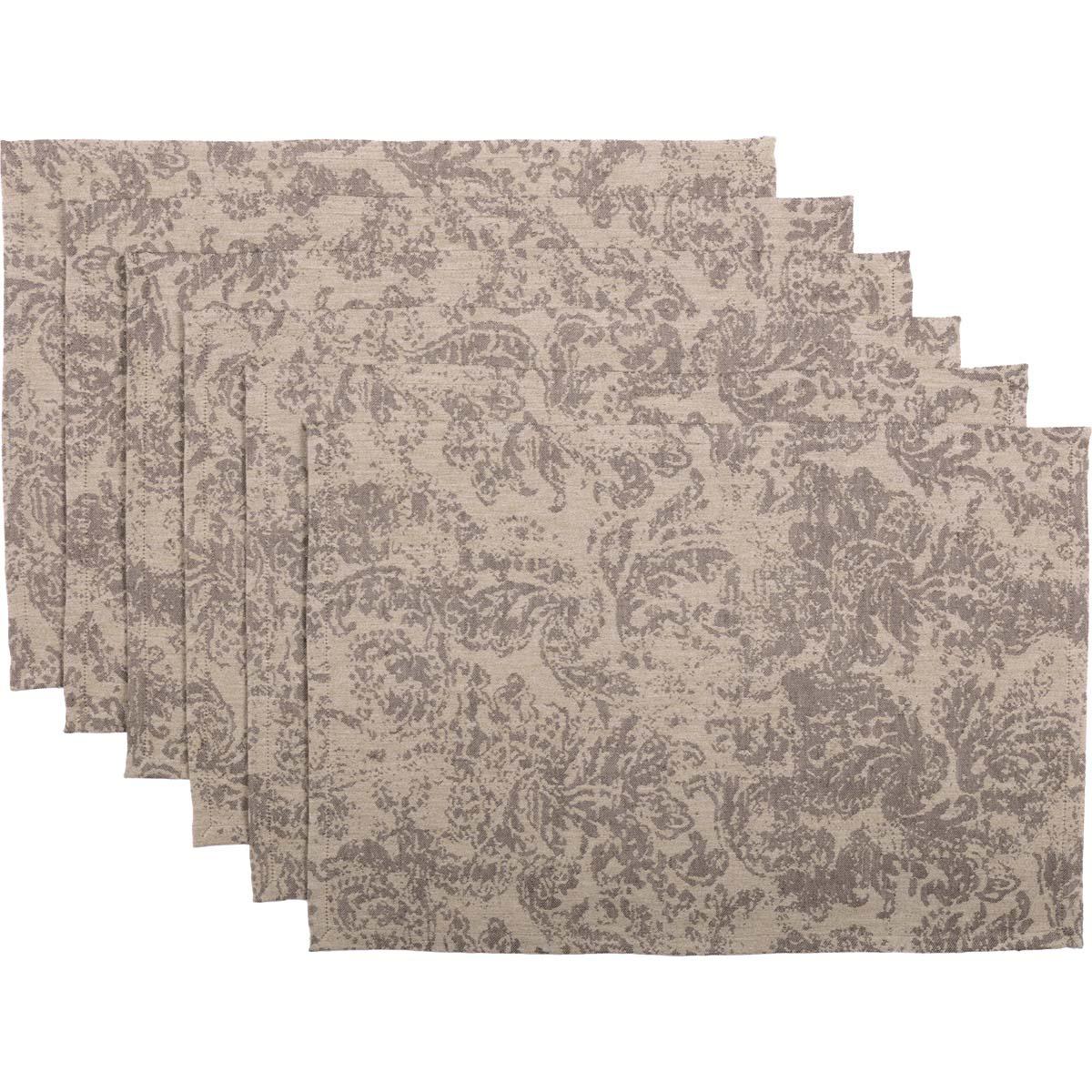 Rebecca Tan Placemat Set of 6 12x18
