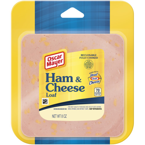OSCAR MAYER Ham and Cheese Loaf 8 oz Pack