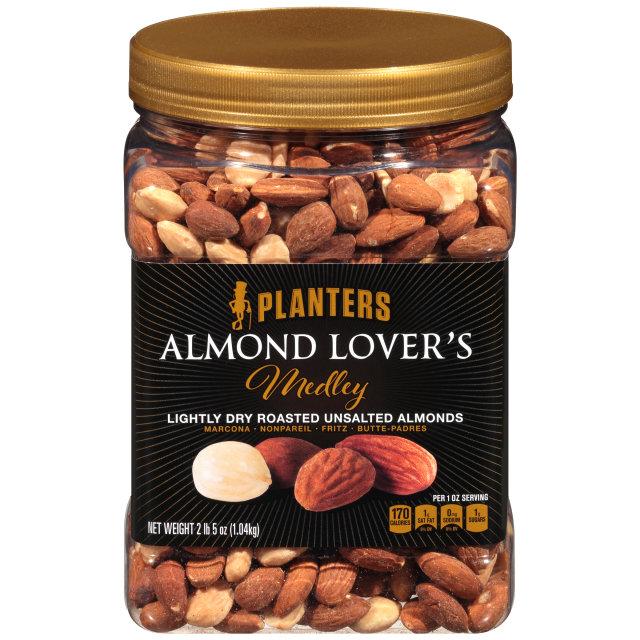 PLANTERS Almond Lover's Medley 37 oz Jar image