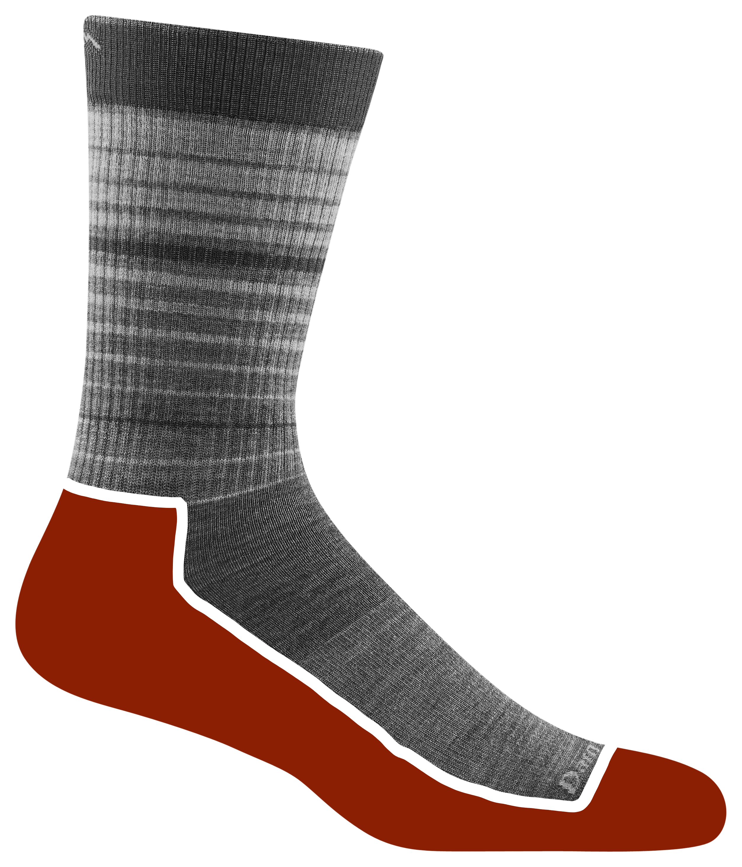 Cushion Location: With added cushion underfoot and just below the ankle, cushion Lifestyle socks look business, feel like vacation.. Cushion Weight: The lightweight yarns used in the Lifestyle category are designed for everyday use and feature a silky, low-profile feel.