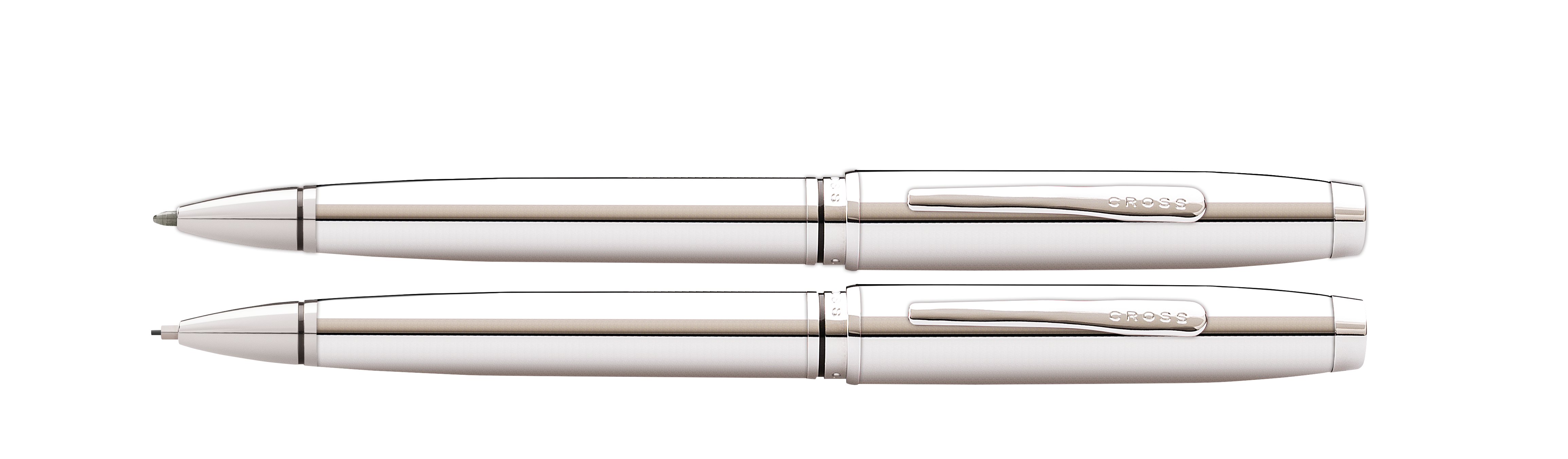 Coventry Polished Chrome Pen and Pencil Gift Set