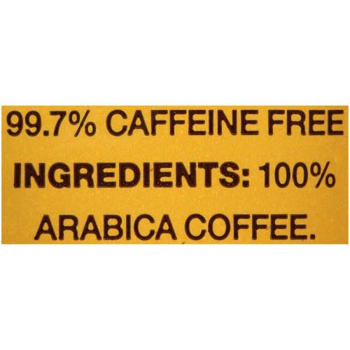 GEVALIA Colombian Roast & Ground Decaffeinated Coffee, 2.5 oz. Bag (Pack of 24)