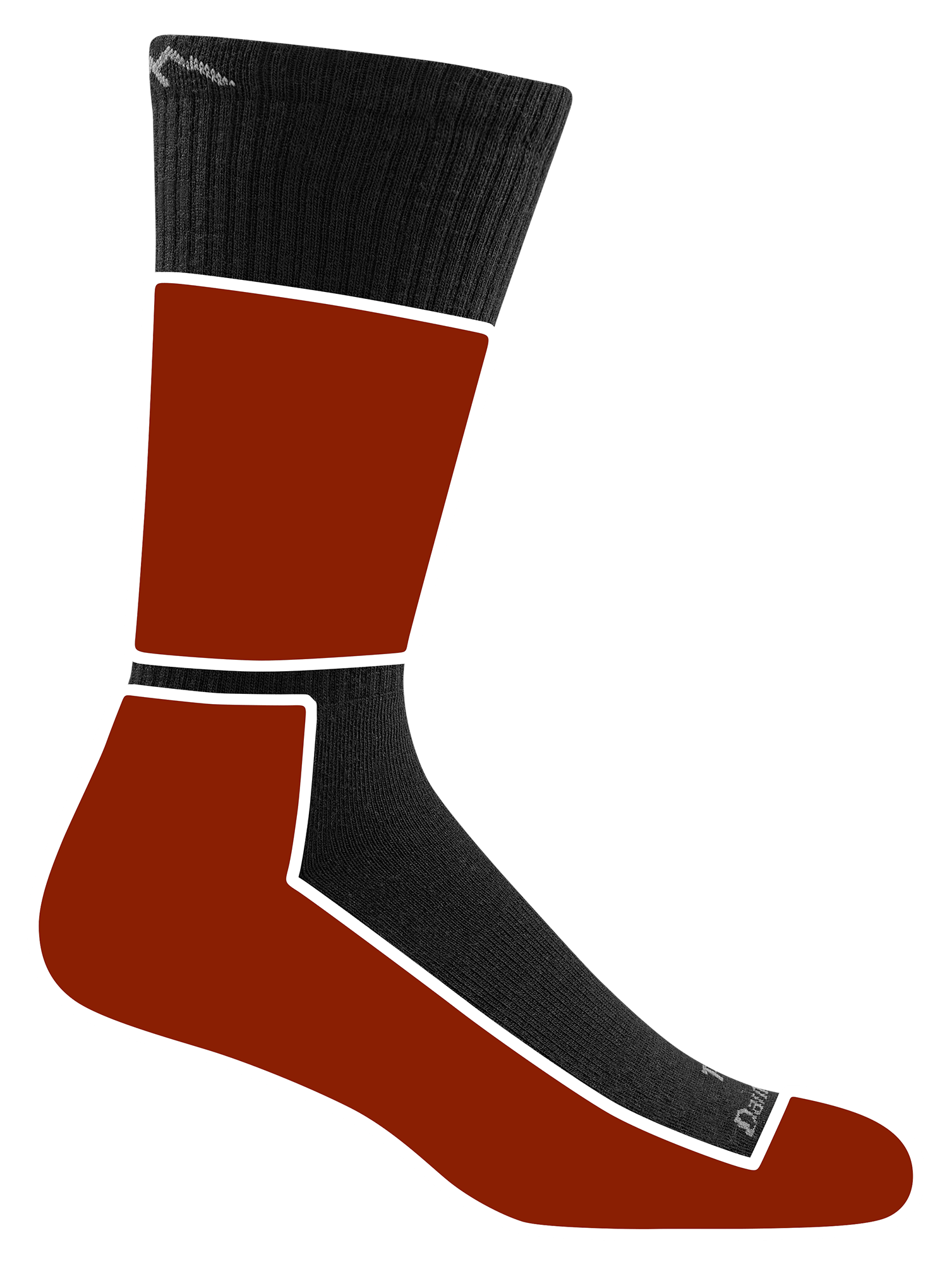 Cushion Location: The Tactical socks with cushion provide added comfort and rebound underfoot and around the ankle.. Cushion Weight: Ideal for cooler climates, midweight socks in Tactical are considered the most versatile for changing environments and activities.