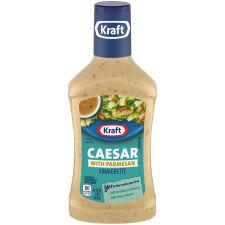 Kraft Caesar Vinaigrette with Parmesan Dressing, 16 fl oz Bottle