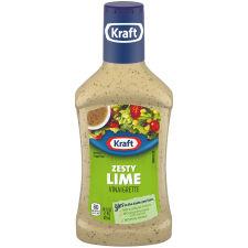 Kraft Zesty Lime Vinaigrette Dressing 16 fl oz Bottle