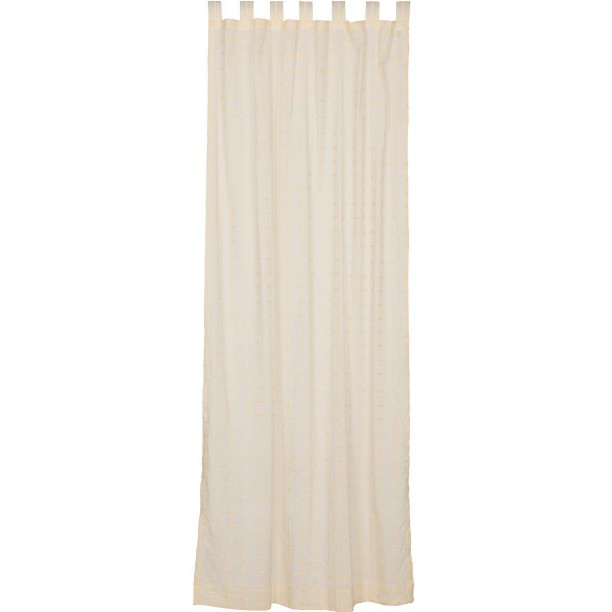 Willow Creme Tab Top Panel 96x50