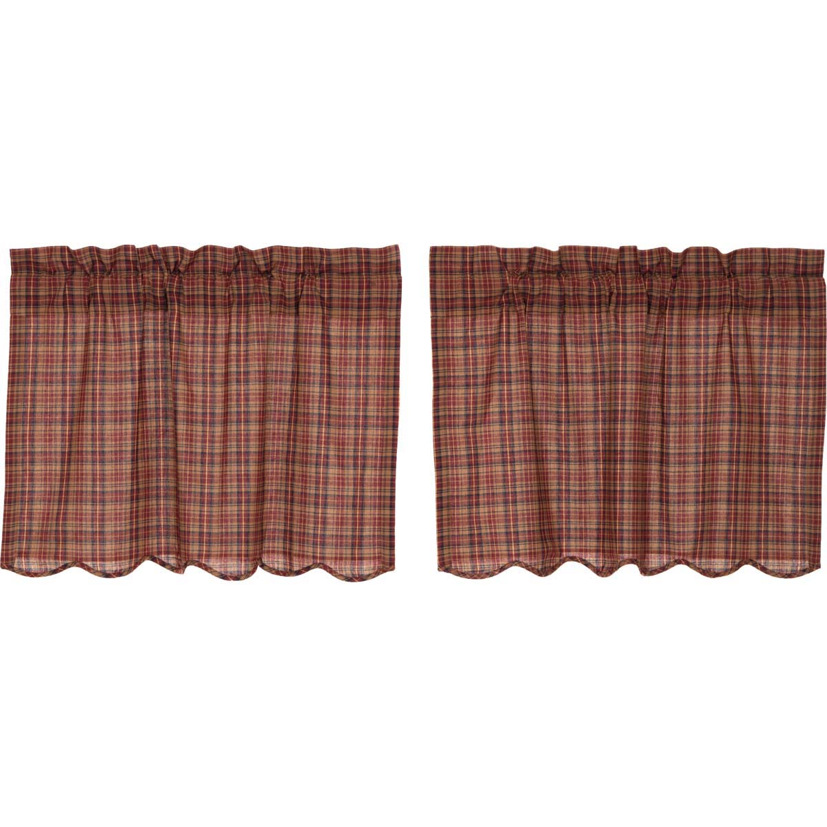 Parker Scalloped Tier Set of 2 L24xW36