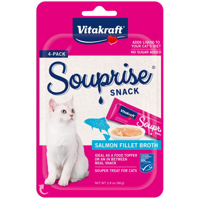 Product-Image showing Souprise® Snack, Salmon, 4 Pack