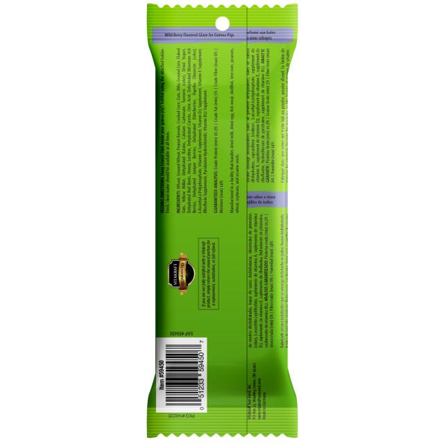 Back-Image showing Crunch Sticks Wild Berry Flavored Glaze