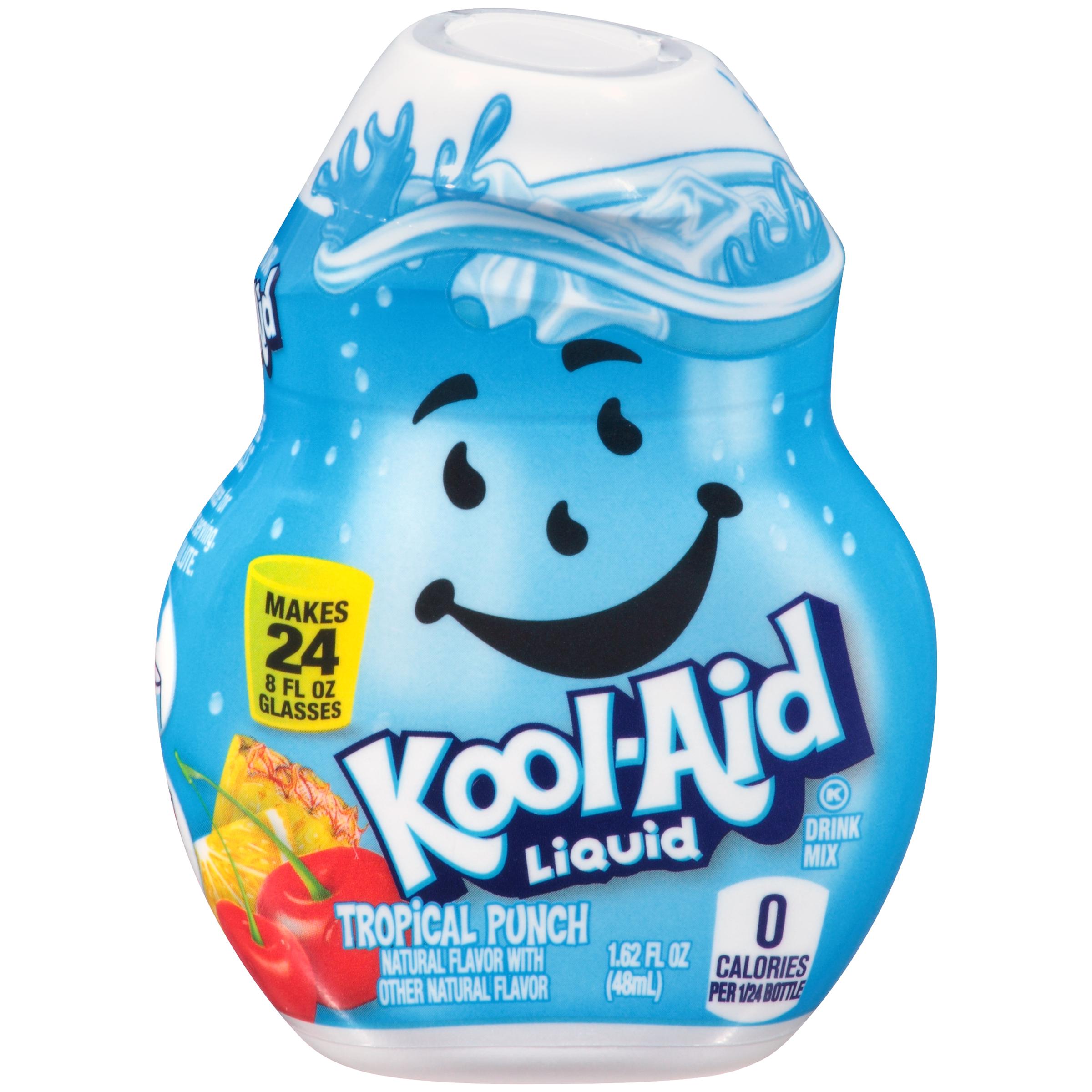 KOOL-AID Tropical Punch Liquid Drink Mix 1.62 fl oz Bottle image