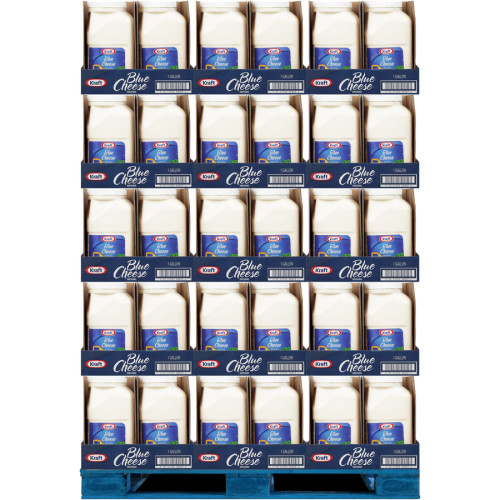 KRAFT Bulk Blue Cheese Salad Dressing, 1 gal. Jug (Pack of 4)