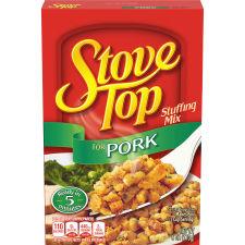 Kraft Stove Top Stuffing Mix for Pork 6 oz Box