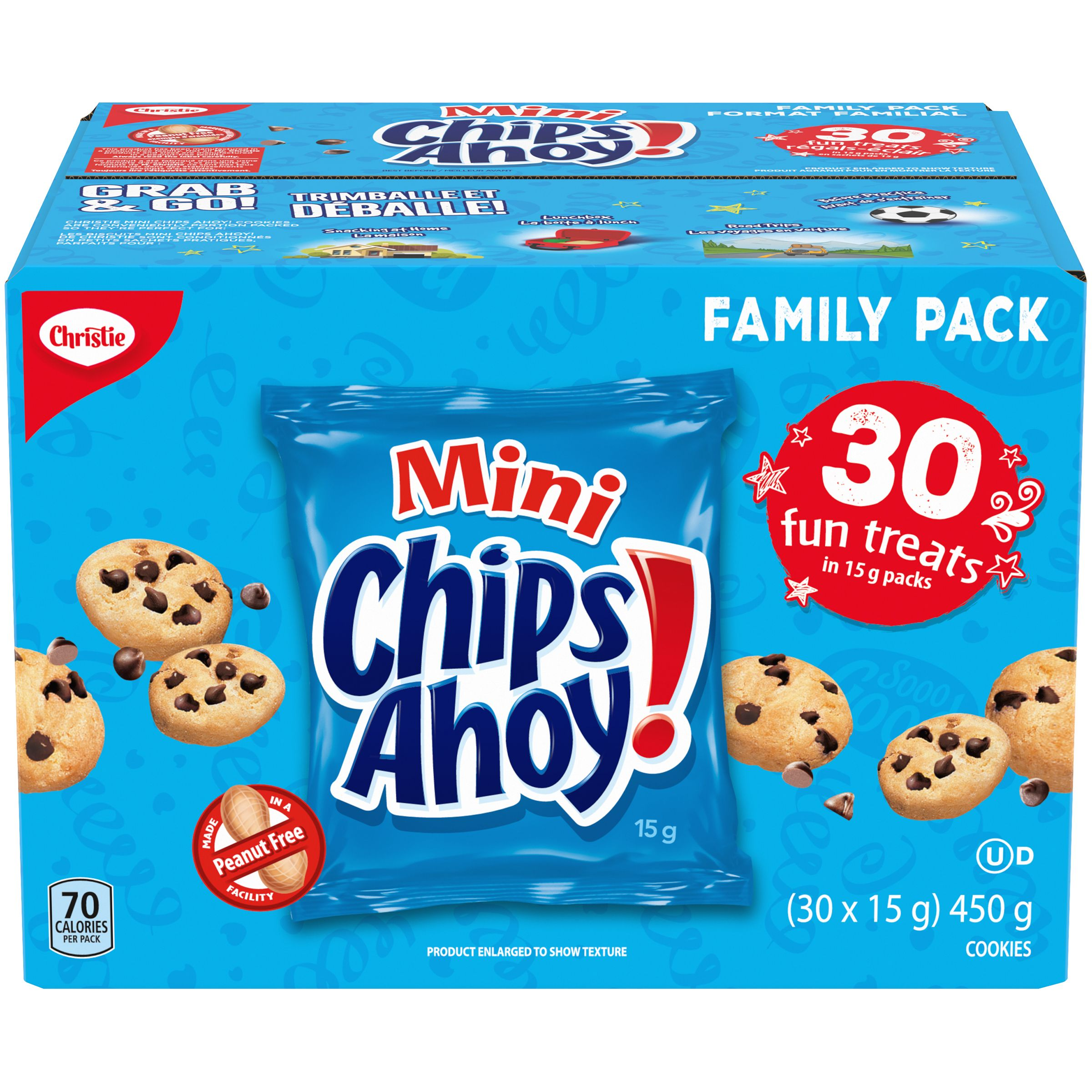 CHIPS AHOY!  FUN TREATS 450 GRM