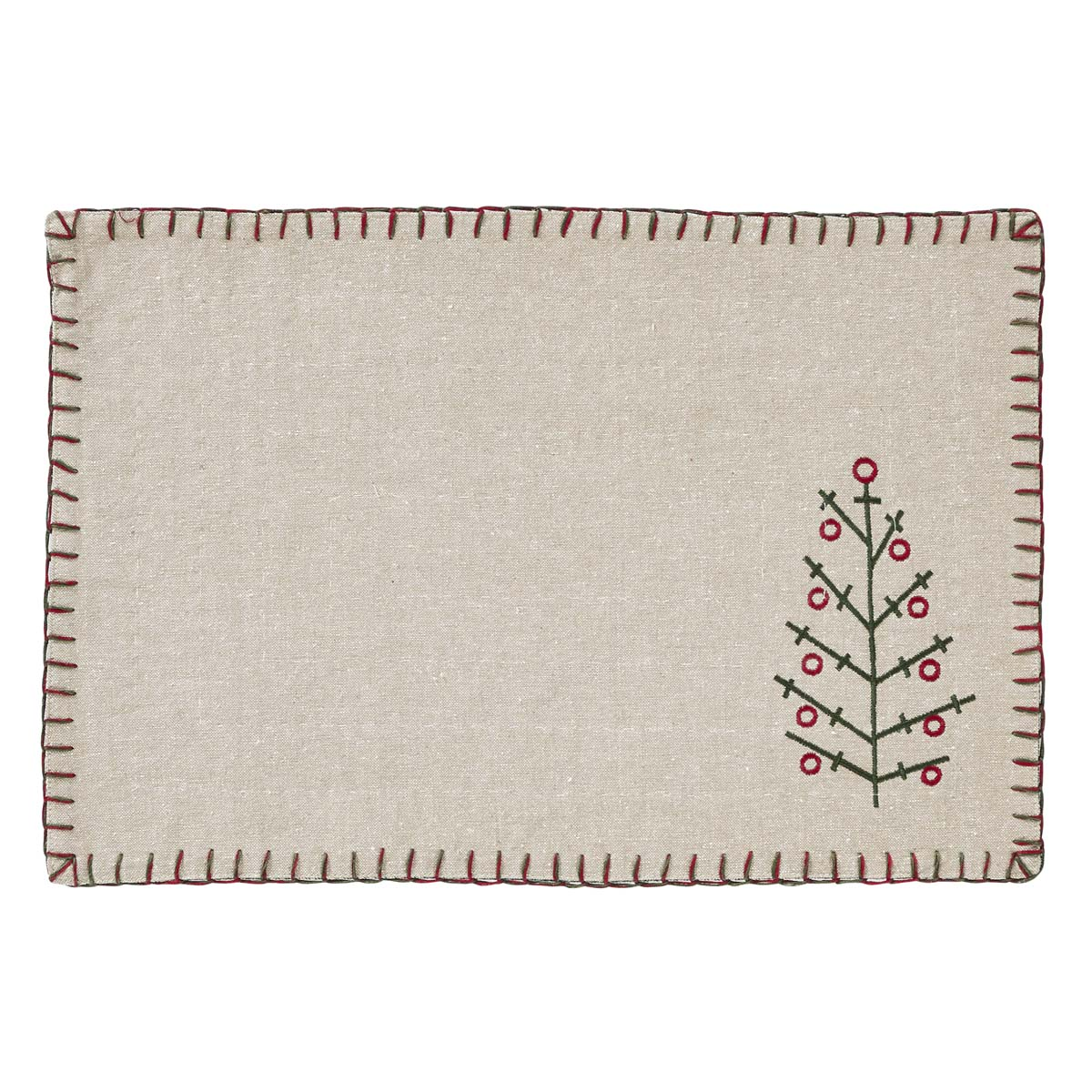 Tidings Placemat Set of 6 12x18