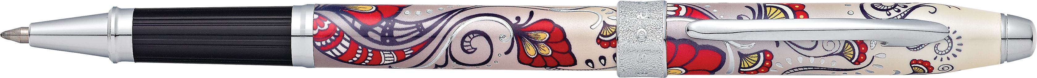 Botanica Red Hummingbird Vine Rollerball Pen