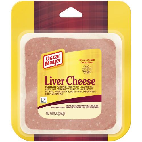 Oscar Mayer Liver Cheese, 8 oz