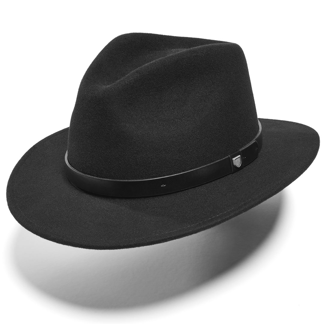 Medium-Brim Fedoras