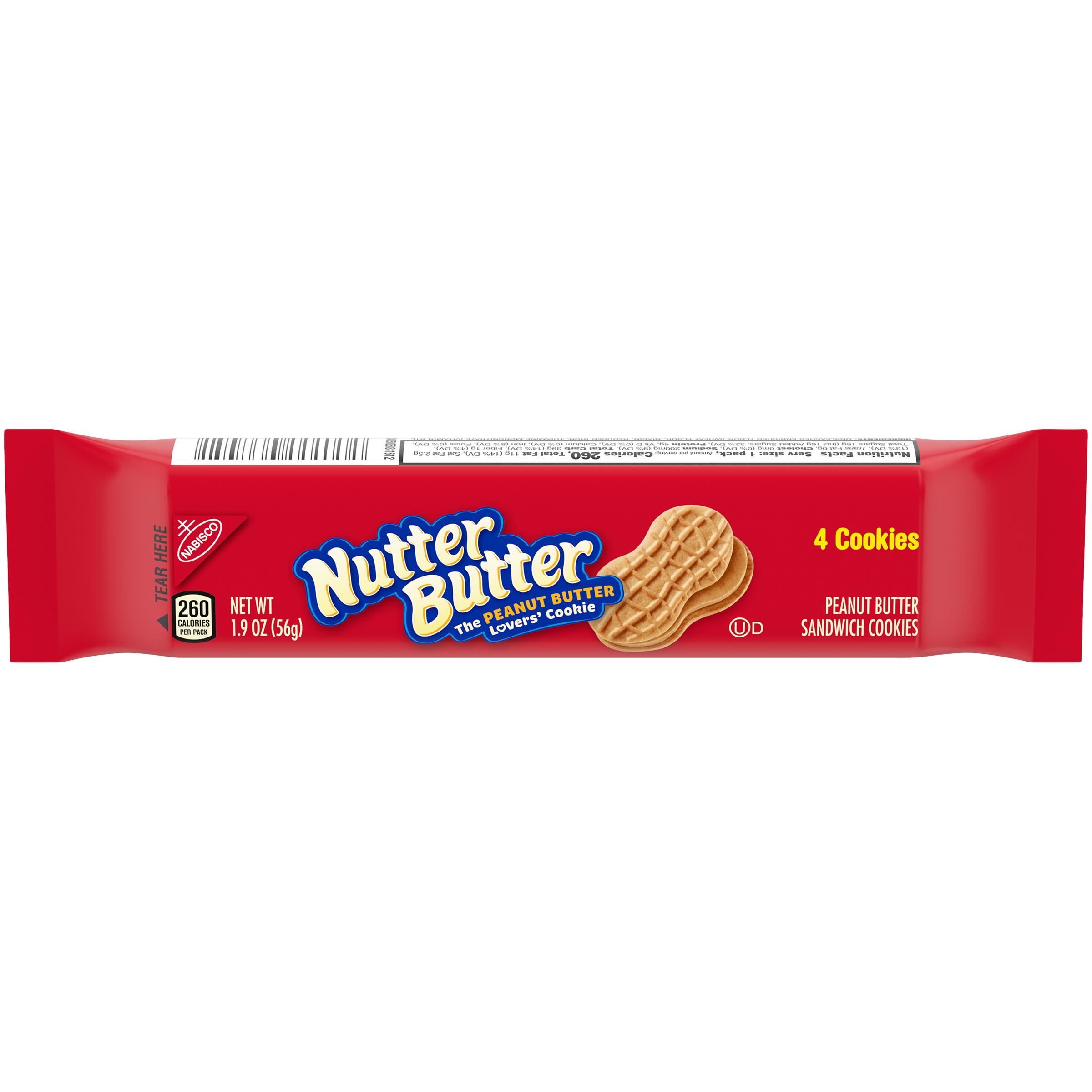 NUTTER BUTTER Supermix Lunchbox Cookies 1.9 oz