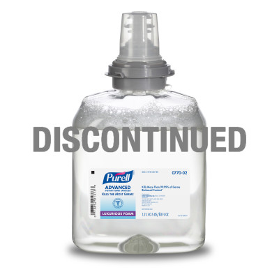 PURELL® Advanced Instant Hand Sanitizer Foam - DISCONTINUED