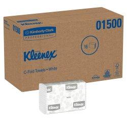 Kleenex Paper Towel C-Fold 10-1/8 X 13-3/20 Inch, 01500 - Case of 2400