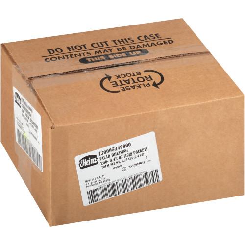 HEINZ Single Serve Salad Dressing, 12 gr. Packets (Pack of 200)