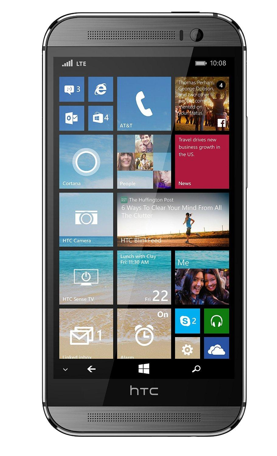 Htc one m8 32gb verizon gsm unlocked 4g lte quad core dual for Window 4g phone