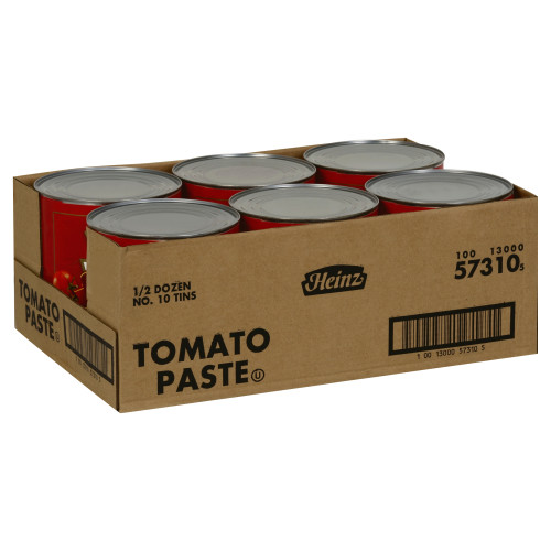 HEINZ Tomato Paste, 111 oz. Can (Pack of 6)