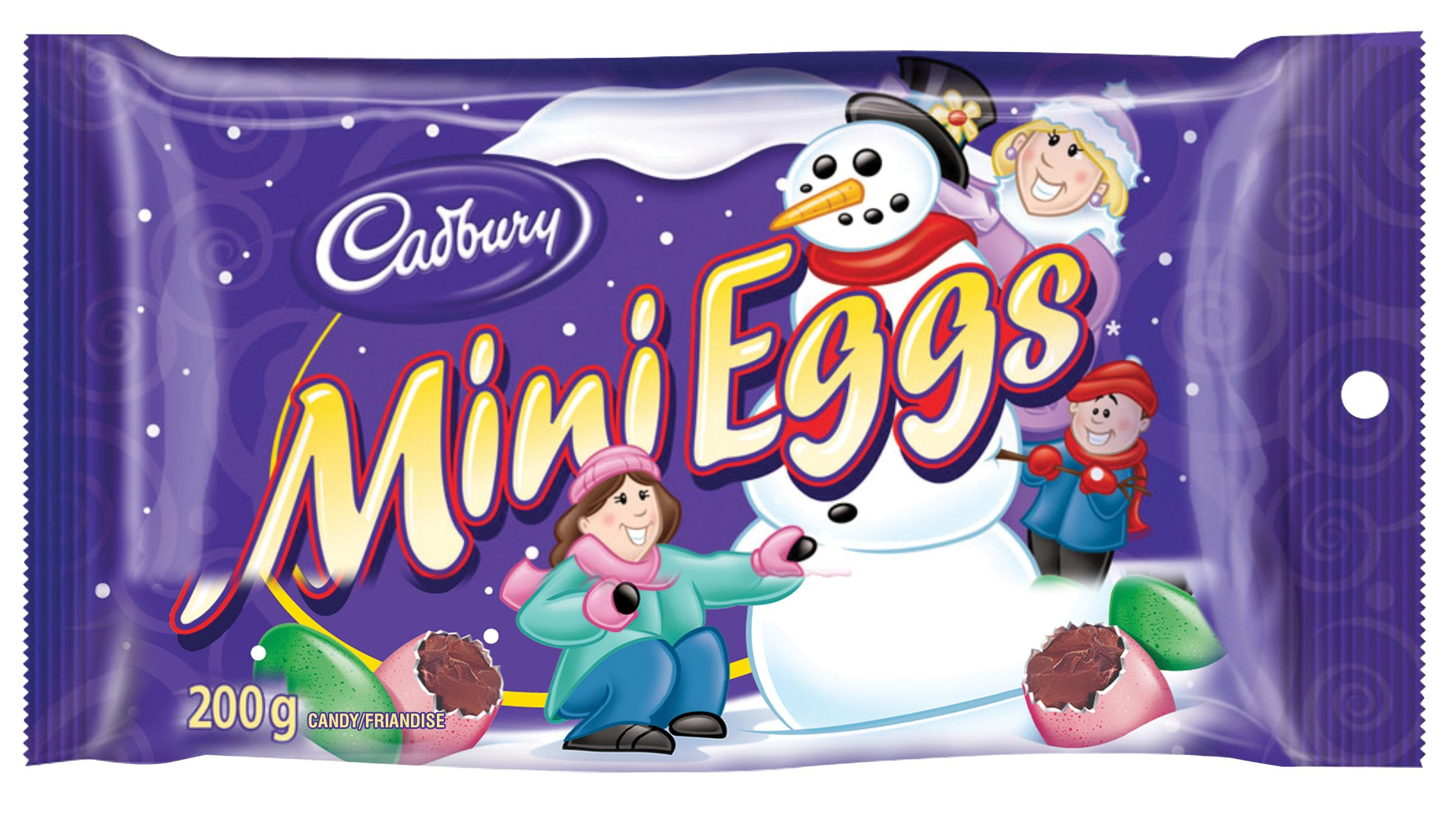 Mini Eggs Assorted Chocolate 200 G