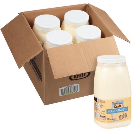 KRAFT Pure Mayonnaise, 1 gal. Jugs (Pack of 4)