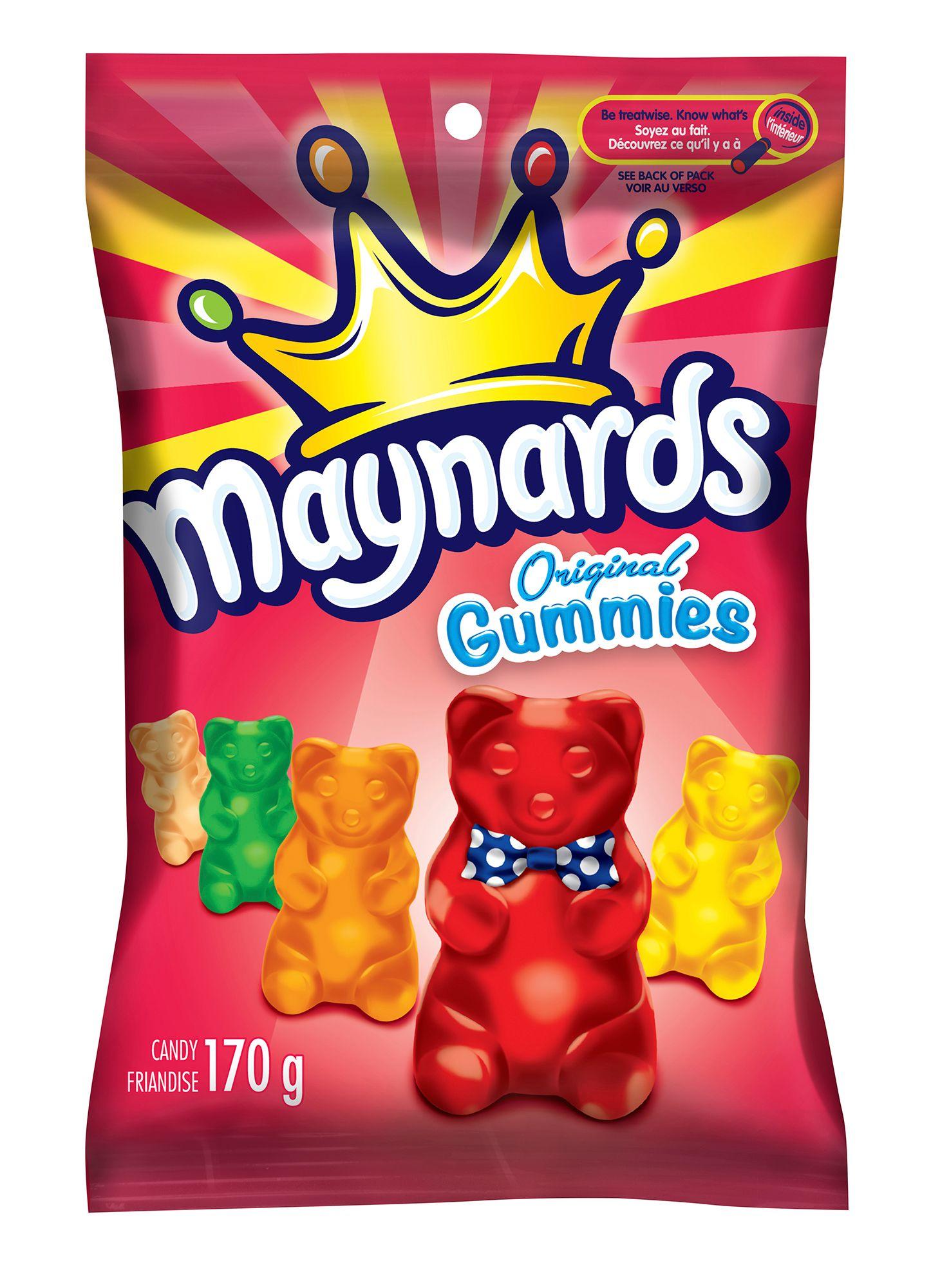 MAYNARDS Original Gummies ASSORTED 170 GRM