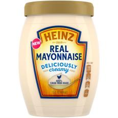 Heinz Real Mayonnaise, 15 fl oz Jar image
