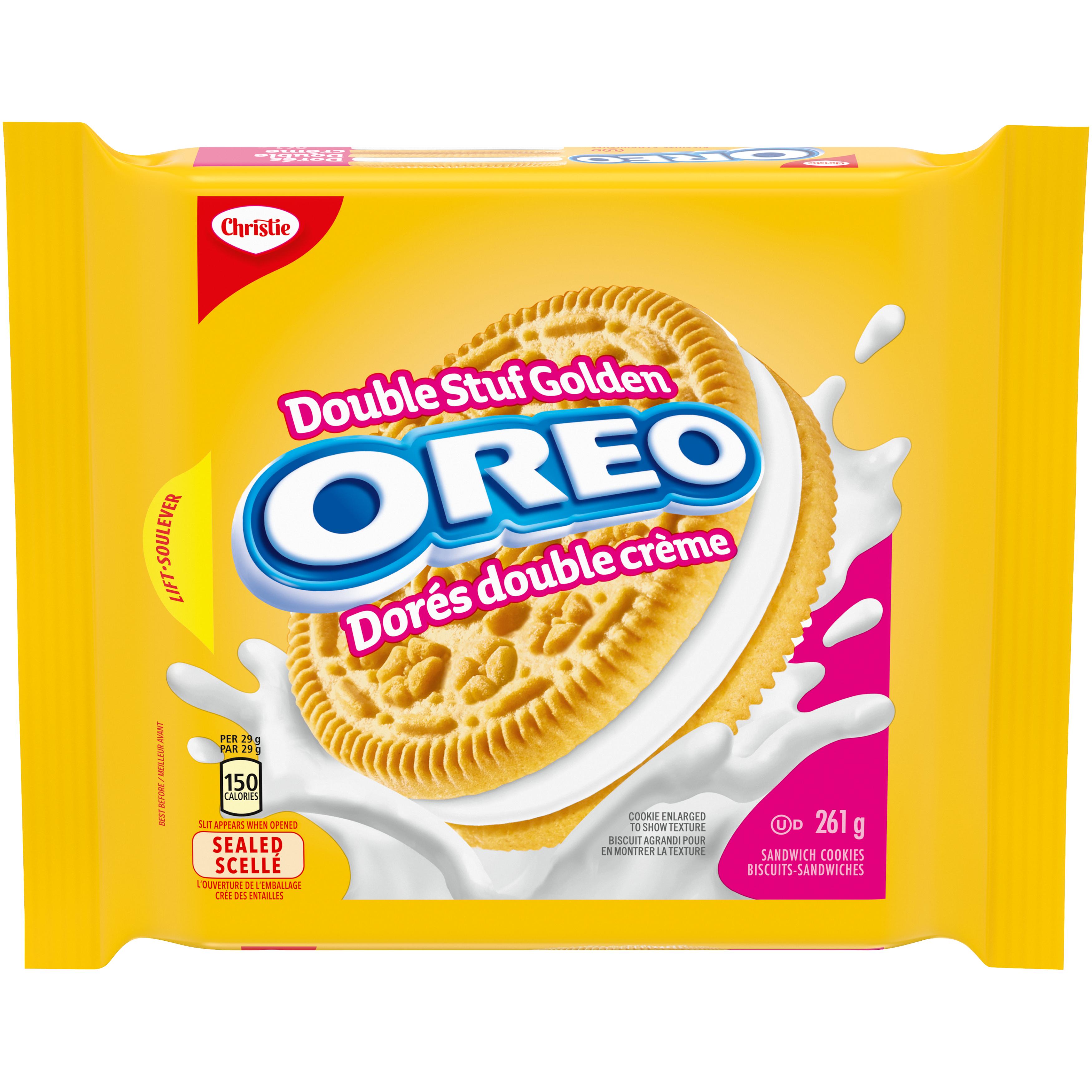 Oreo Double Crème Doré Biscuits 261 G