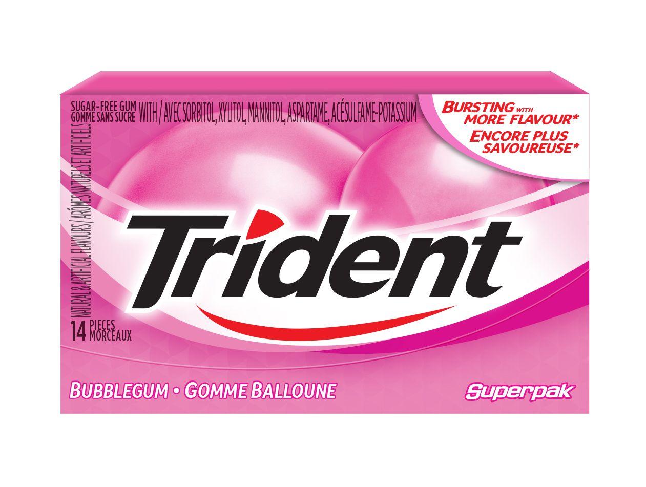TRIDENT  GOMME BALLOUNE 14 1N