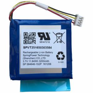IQ Alarm Panel 2 Battery Wave Electronics