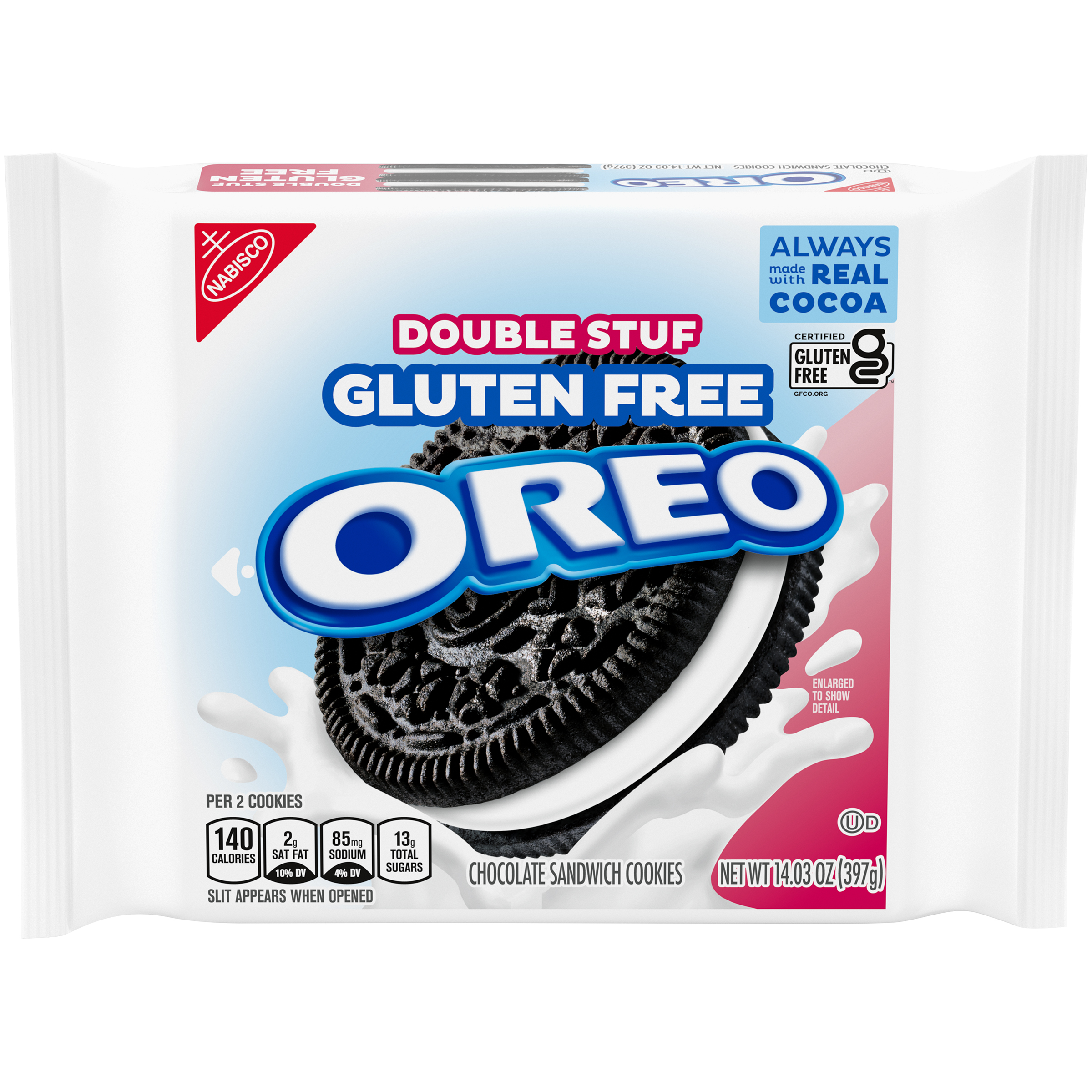 OREO Double Stuf Gluten Free Sandwich Cookies 14.03 Oz