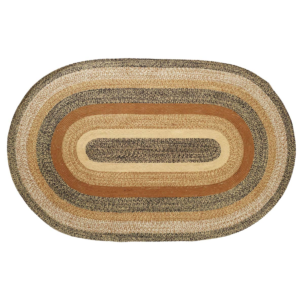 Kettle Grove Jute Rug Oval 60x96