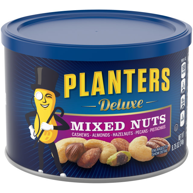 PLANTERS Deluxe Mixed Nuts 8.75 oz Can