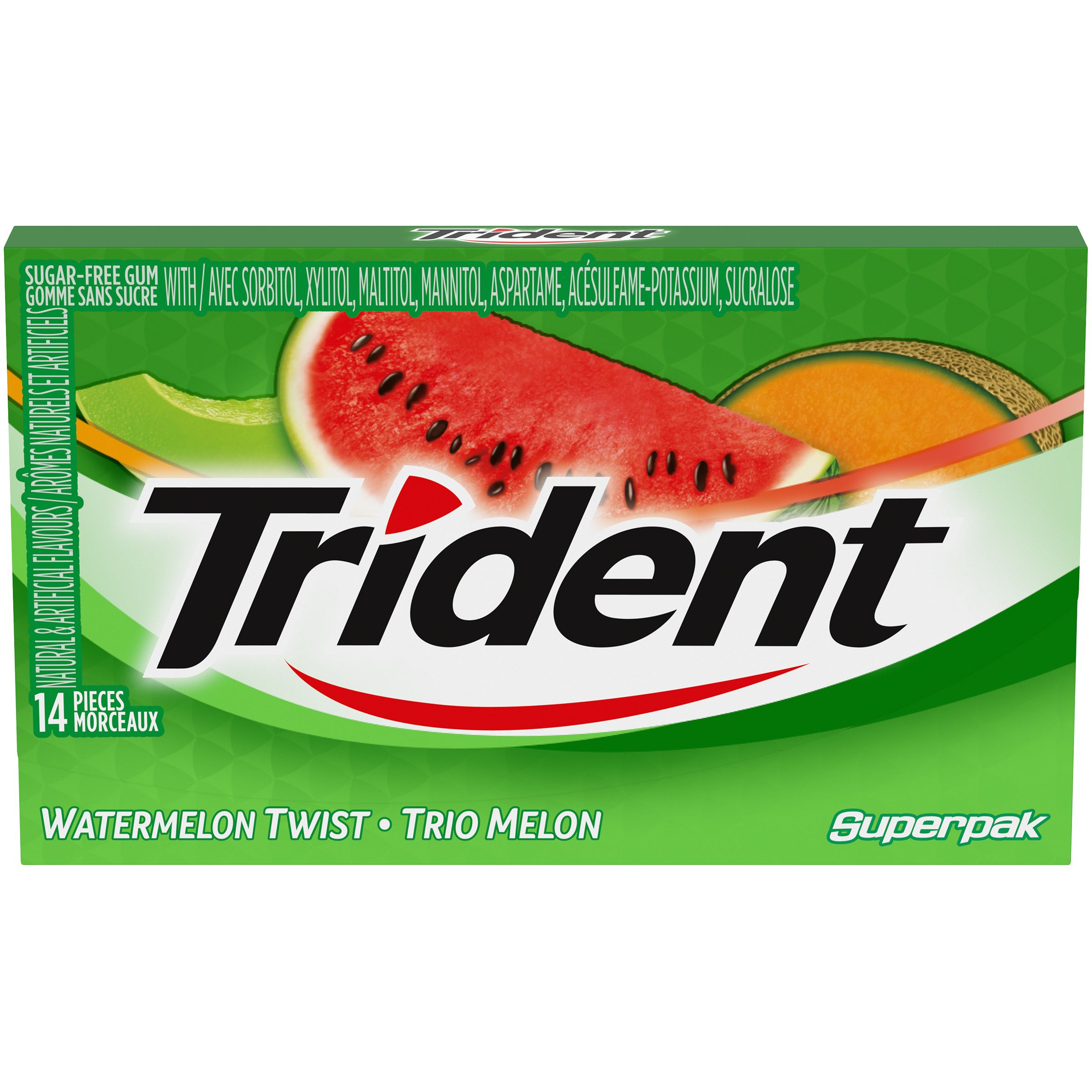 Trident Watermelon Twist Gum 26.6 G